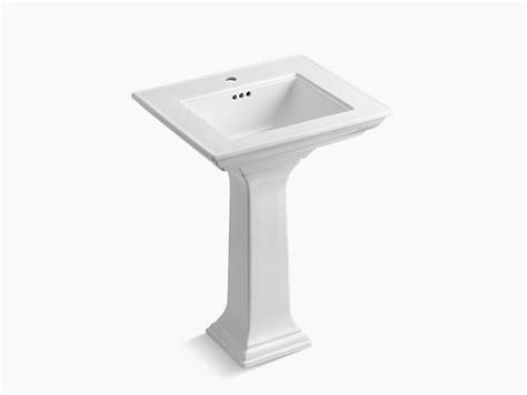 kohler memoirs stately pedestal 24 memoirs pedestal with stately design and single hole