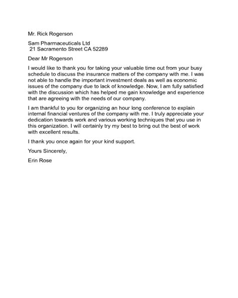 thank you letter to employer thank you letter to employer sle edit fill sign