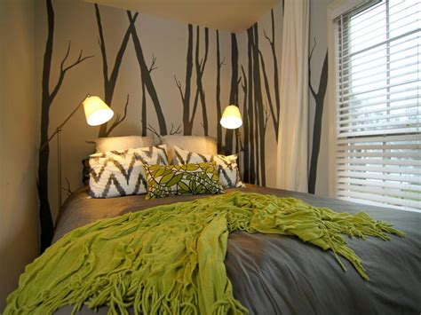 nature themed bedroom 25 accent wall paint designs decor ideas design trends