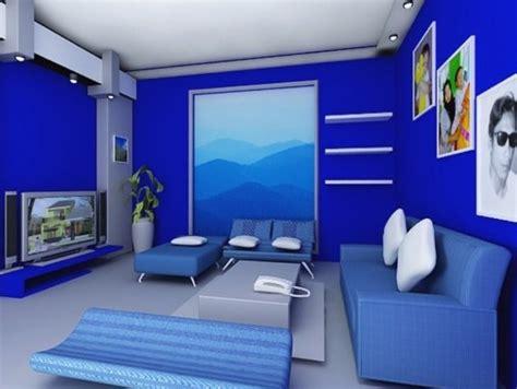 warna cat rumah bagian  biru content