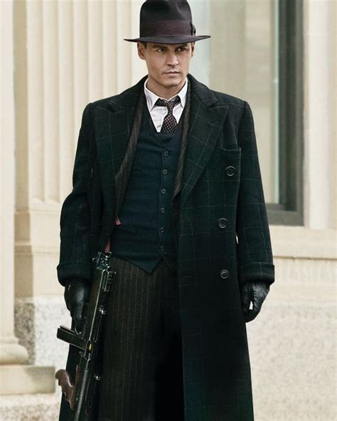 film gangster johnny depp johnny depp as john dillinger in public enemies quot i like