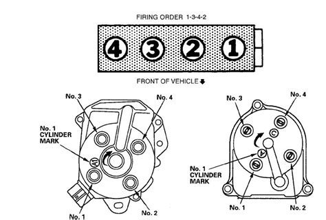 honda v6 firing order diagram wiring diagrams repair