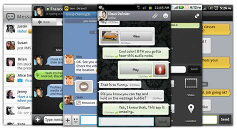 best android texting app 6 best android apps for messaging like bbm but better