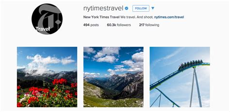new york times travel 13 travel instagram accounts to follow for inspiration