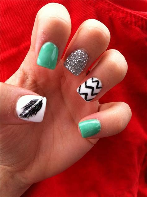 Chanel Jelly Chevron 022 B best 25 feather nails ideas on