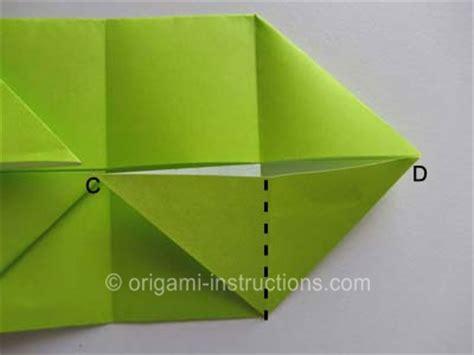 Origami Talking - origami talking frog folding