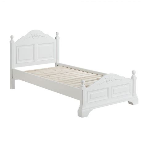 single bed headboards white wood white lily 3ft single bed
