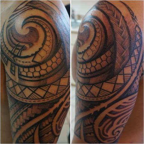 tribal tattoo that means strength filipino and polynesian tribal with patterns and motifs