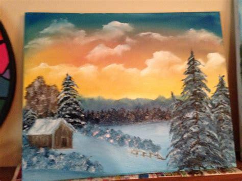 bob ross painting happy clouds january bob ross painting happy clouds and trees