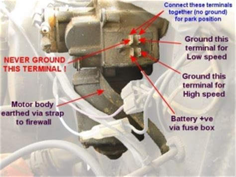 hq holden wiper motor wiring diagram efcaviation