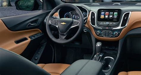 chevrolet equinox 2018 interior 2018 chevrolet equinox sheds weight gains turbo engines
