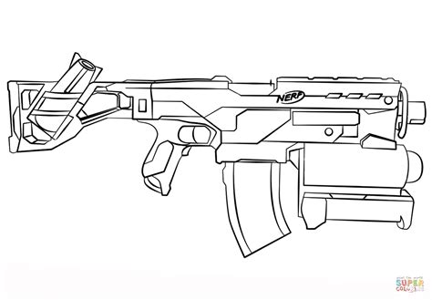toy gun coloring page nerf gun coloring page free printable coloring pages