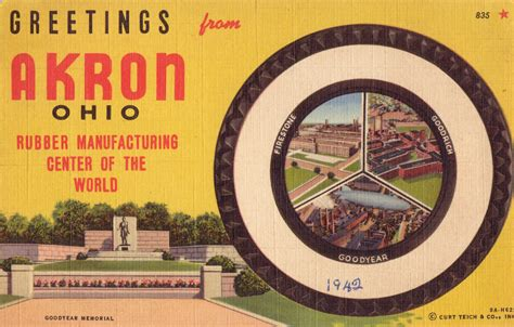 akron a history of brewing in the rubber city american palate books postcards from the summit a northcoast post