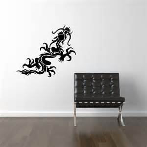 Wall Graphics Stickers Items Similar To Dragon Vinyl Wall Decal Decals Wall