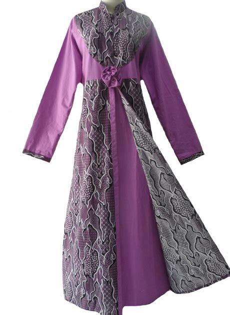 model baju untuk kain polos gamis batik kombinasi kain polos 28 images model baju