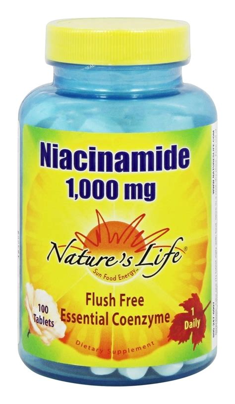 Niacinamide Detox by Buy Nature S Niacinamide 1000 Mg 100 Tablets At