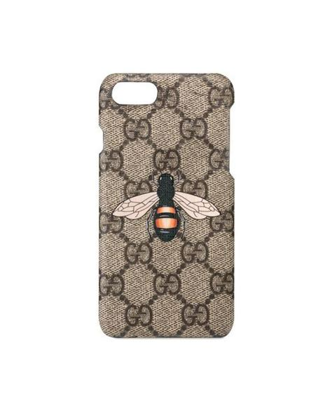Iphone Casing Gucci Embro Bee Blind For Iphone 67 gucci bee print iphone 7 lyst