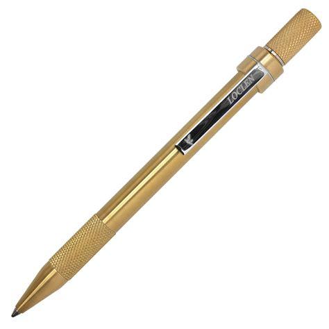 Pen 2 In 1 Pulpen Pisau Loclen Tekno 2 Ballpoint Pen Brass Cult Pens