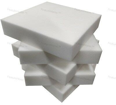 Upholstery Foam Cushions Cut To Size Upholstery Foam Cushions Seat Pads Depth Replacement
