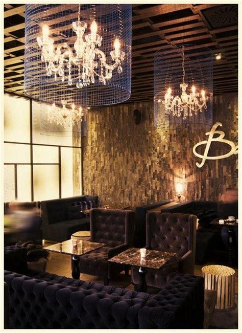 eclectic coffee shop design  classic chandeliers