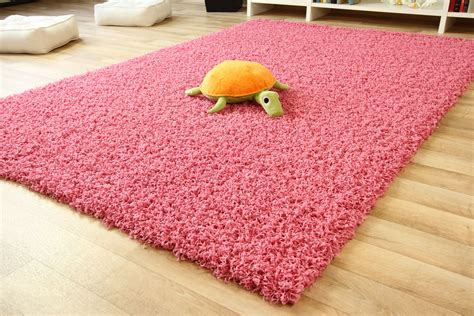 Teppiche Rosa by Shaggy Langflor Hochflor Teppich Rosa Pink Ebay