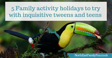 9 Activities To Try Today by 5 Family Activity Holidays To Try With Inquisitive Tweens