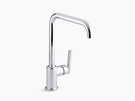 Kohler Purist Faucet by Kohler 7507 Purist Single Kitchen Sink Faucet With 8 Quot Spout