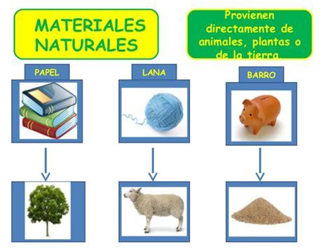 imagenes de materiales naturales y artificiales unidad 2 materiales
