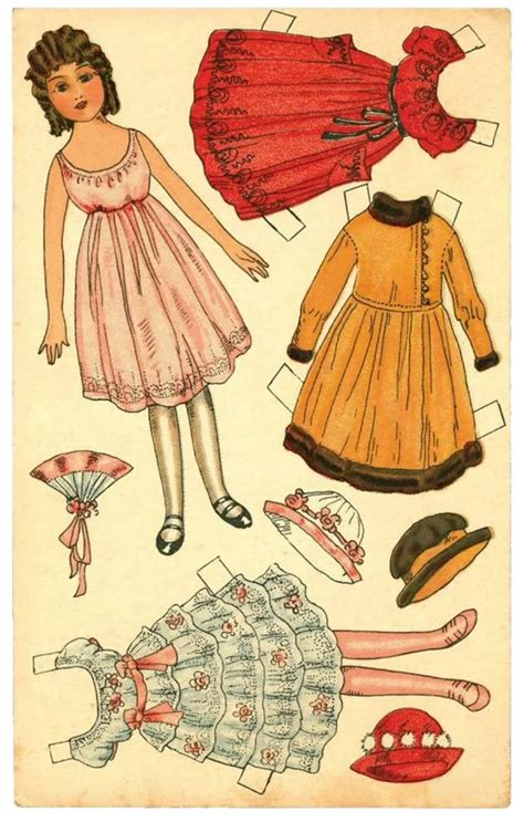 Paper Dolls - paper doll downloads design dazzle