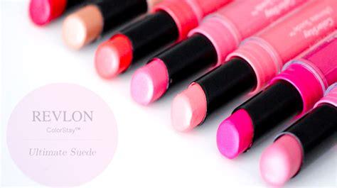 revlon colorstay ultimate suede lipstick swatches marlin makeupmarlin revlon colorstay ultimate suede lipstick