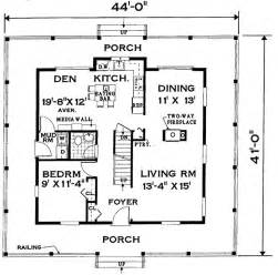 Floor Plans With Porches by Wrap Around Porch Home 7005 4 Bedrooms And 2 Baths The
