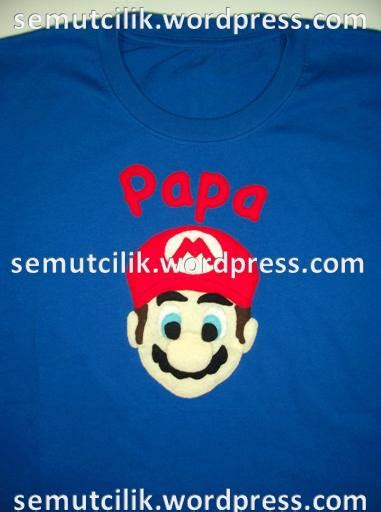 Kaos Mario Bros 8 Bit Anak Dewasa 1 kaos anak dan dewasa kartun mario spongebob character cuteballerina cutefairy