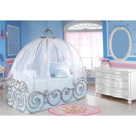 cinderella beds details about disney carriage bed canopy sheer just the