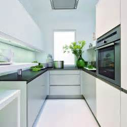 Designing A Small Kitchen Small Kitchen With Reflective Surfaces Small Kitchen Design Ideas Housetohome Co Uk
