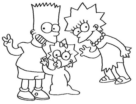 the simpsons coloring pages coloring pages coloring home