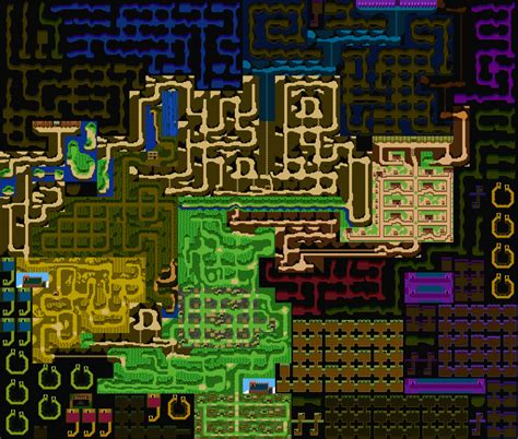 nes maps willow nes warp map completed