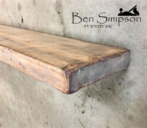 shabby chic mantel shelf shabby chic floating shelves shelf mantel chunky wooden rustic