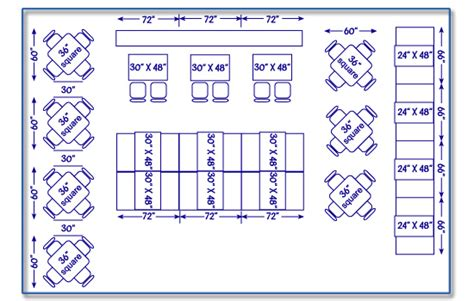 table layout guidelines seatingexpert com restaurant seating chart design guide