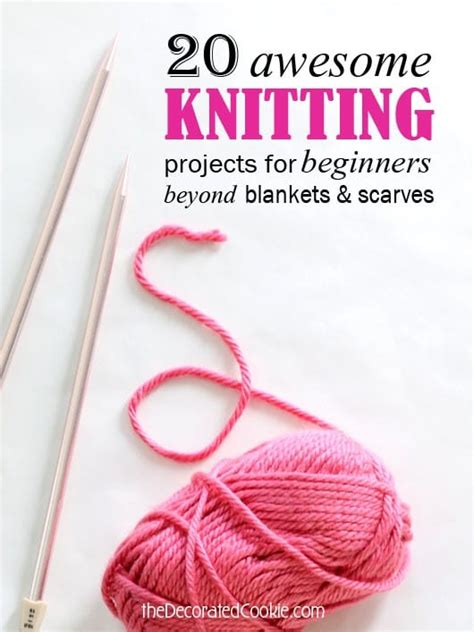 easy things to knit for beginners a roundup of 20 easy knitting projects for beginners