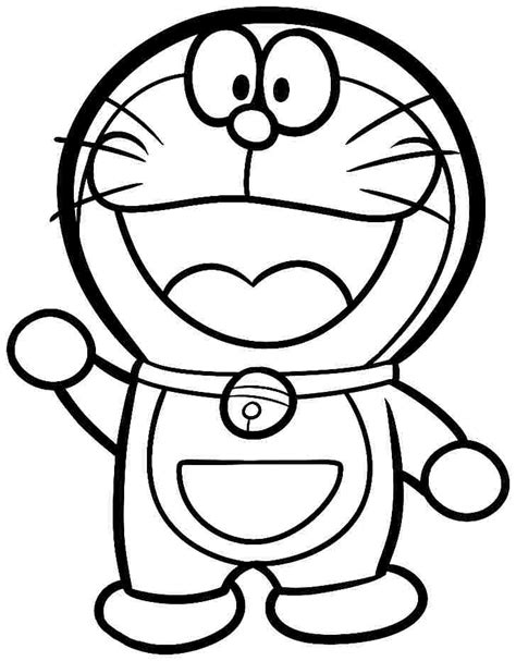 free coloring page doraemon coloring pages cartoon doraemon free printable for kids