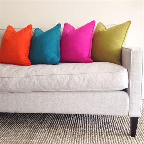 decorating with pillows on sofa ways to decorate a sofa with custom pillows switch studio