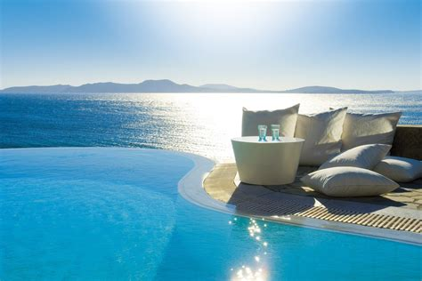 Infinity Pool by Mykonos Grand Hotel And Resort Greece Infinity Pools