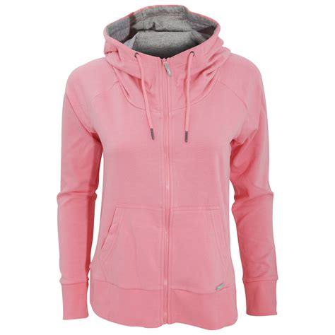 bench hoodie womens bench womens ladies effortless zip up hoodie jacket ebay