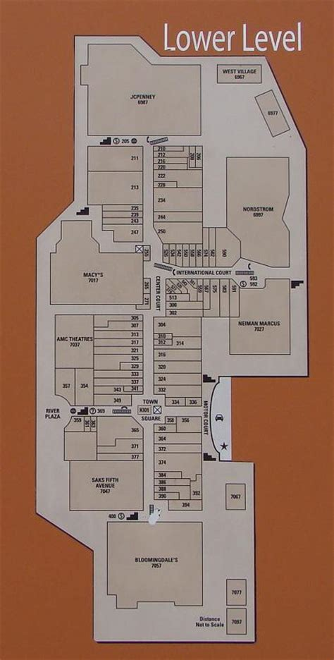 layout of fashion valley mall fashion valley 2