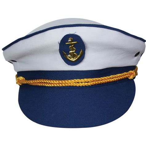Home costume accessories sailor captain cap