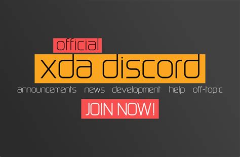 discord developers announcing the official xda developers discord server