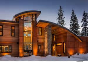 Nice House Plans cabin mansion wooden residential architecture on a large