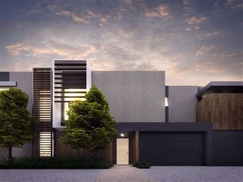 contemporary townhouse cotery townhouse contemporary facade design home