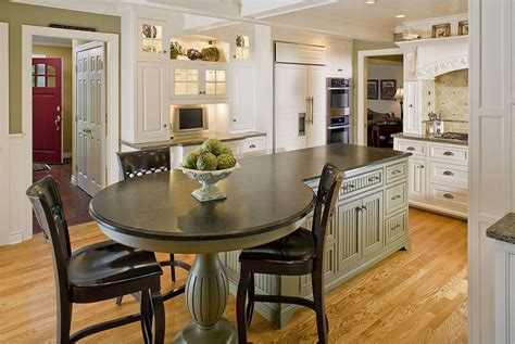 round kitchen island with seating kitchen island with round end round kitchen plans round
