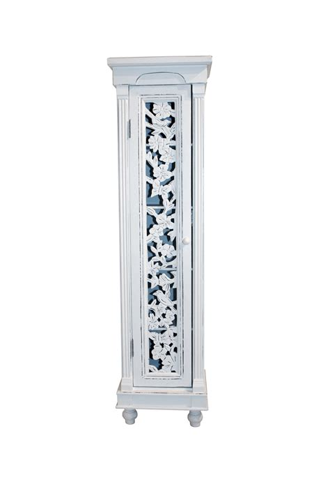 bentley white floral shabby chic cd dvd storage living room bookcase cabinet ebay